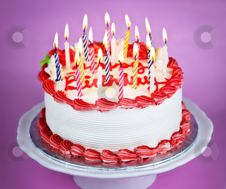 birthday cake with lit candles pictures Best Birthday Cakes