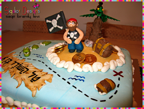 Pirates Birthday Cakes