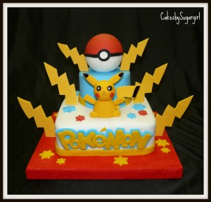 Pokemon Birthday Cakes Pokemon Birthday Cakes