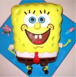 Spongebob Birthday Cakes 4 Spongebob Birthday Cakes
