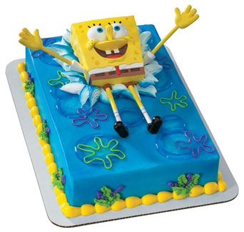 Spongebob Birthday Cakes