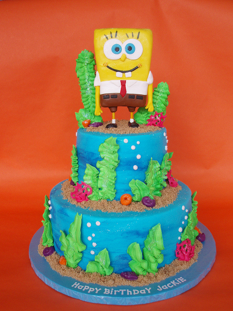 Spongebob Birthday Cakes 6 Spongebob Birthday Cakes