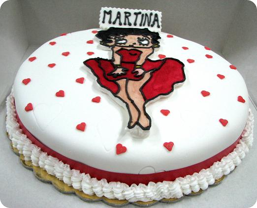 Betty The Boop Birthday Cakes