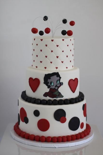 Betty The Boop Birthday Cakes