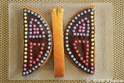 Butterfly Birthday Cake 3