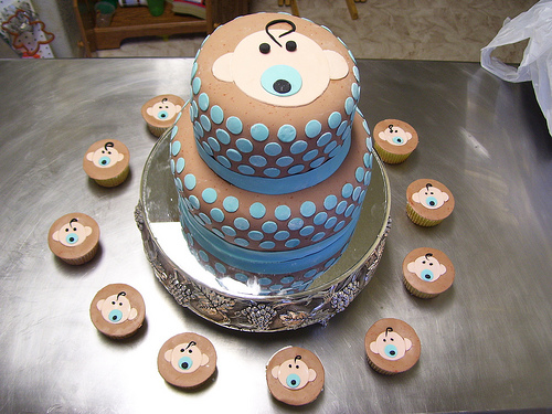 Shower Baby Cakes Pictures