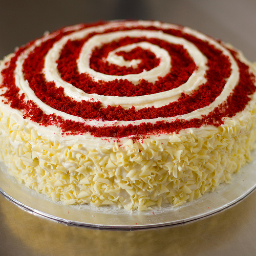 Red Velvet Cake 2 Tired of chocolate cake? Try red velvet birthday cake