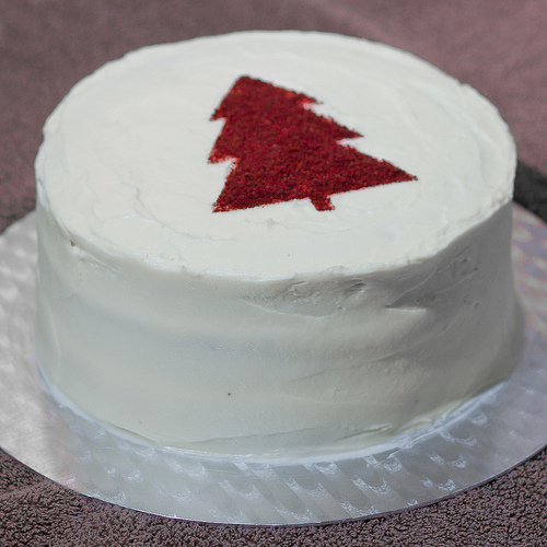Red Velvet Christmas Cake Tired of chocolate cake? Try red velvet birthday cake
