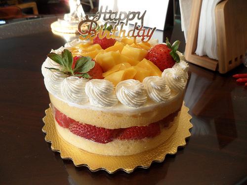 Cake With Fruit Birthday : The Best Birthday Cake Best Birthday Cakes