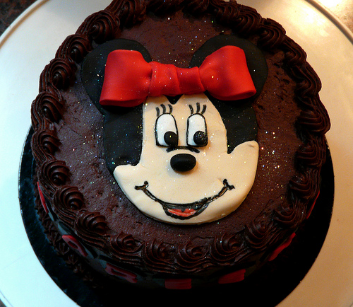 Minnie Bithday Cake