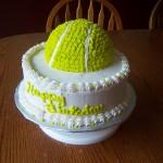 A Tennis Birthday Cake
