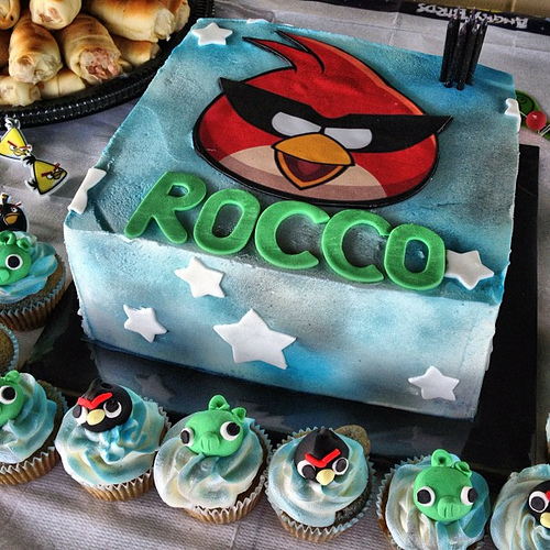 Angry Birds Cake2