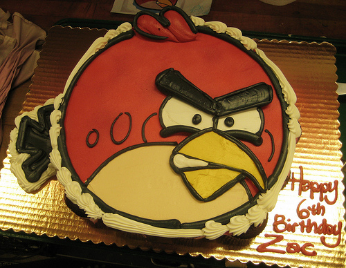 Angry Cakes for Little Birds