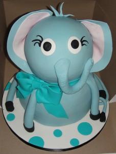Elephant Birthday Cakes