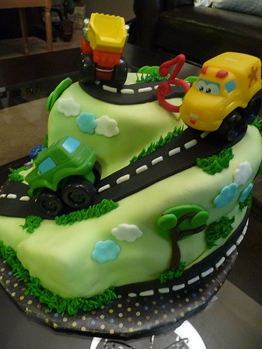 Creative Cars Birthday cakes for Boys Birthday party
