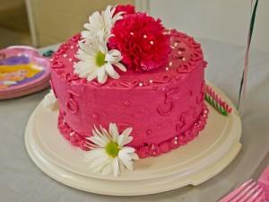 Flowers Birthday Cake