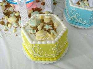 Shell Birthday Cake