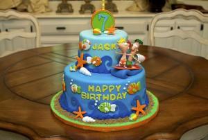 Homemade Kid Cake